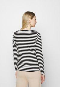 Anna Field - Långärmad tröja - black/white - 2