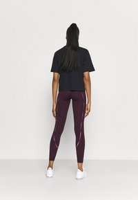 Under Armour - RUSH SCALLOP LEG  - Leggings - polaris purple - 2