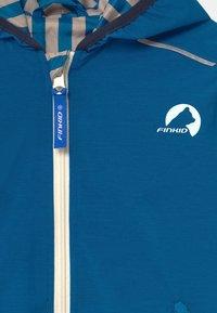 Finkid - VALAS REVERSIBLE UNISEX - Vodotěsná bunda - nautic/navy - 3