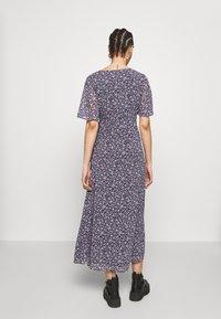 Vila - VIOELAMEREDITH ANCLE DRESS - Kjole - dark blue - 2