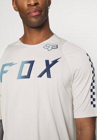 Fox Racing - DEFEND WURD - T-Shirt print - navy - 5