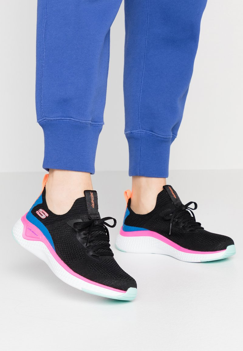 Skechers Sport - SOLAR FUSE - Trainers - black/multicolor