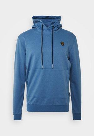 Hoodie - bright blue