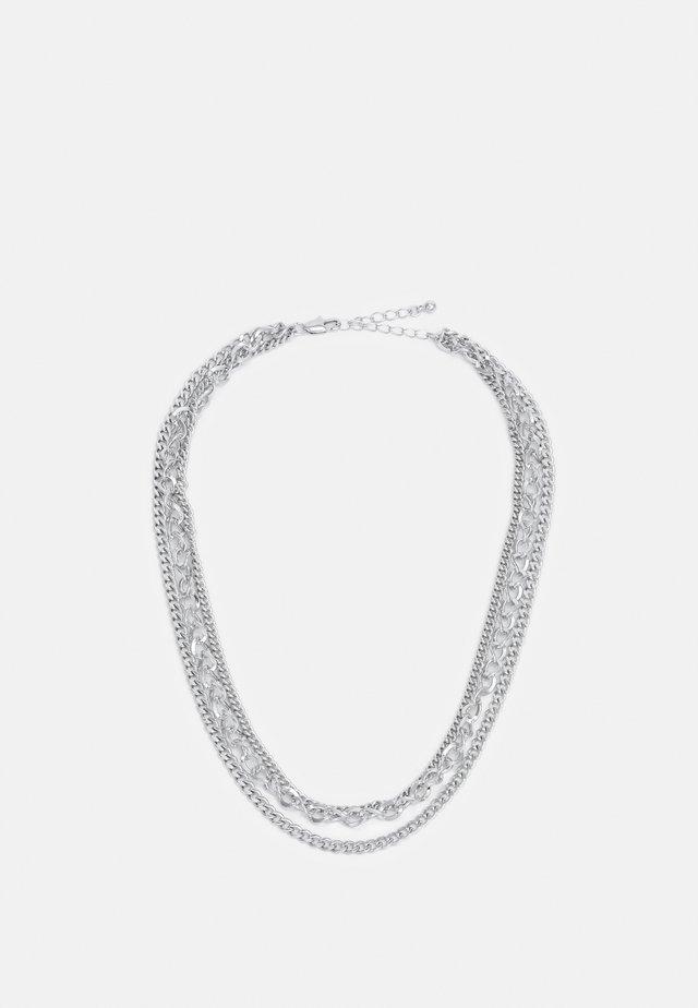 SALLY COMBI NECKLACE - Halskæder - silver-coloured