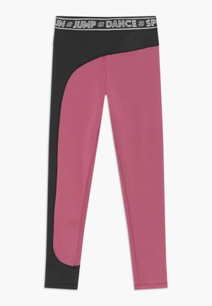 OLYMPIA - Leggings - pink/black