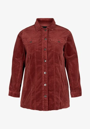 WITH POCKETS - Summer jacket - red