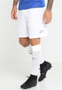 Lotto - SHORT DELTA - Short de sport - white - 0