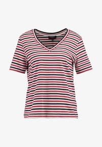 Selected Femme - SLFSTANDARD V NECK - Print T-shirt - toreador/night sky/primrose - 3