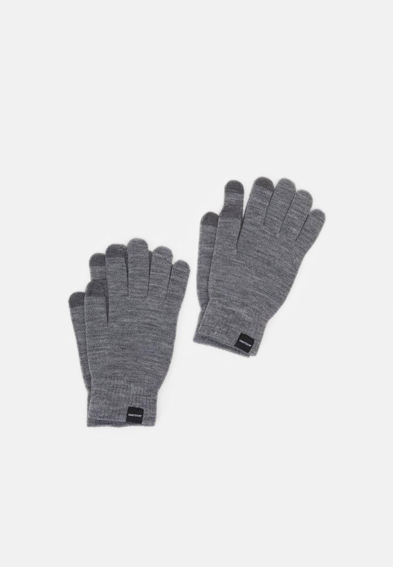 Jack & Jones - JACSONNY GLOVES 2 PACK - Gloves - grey melange