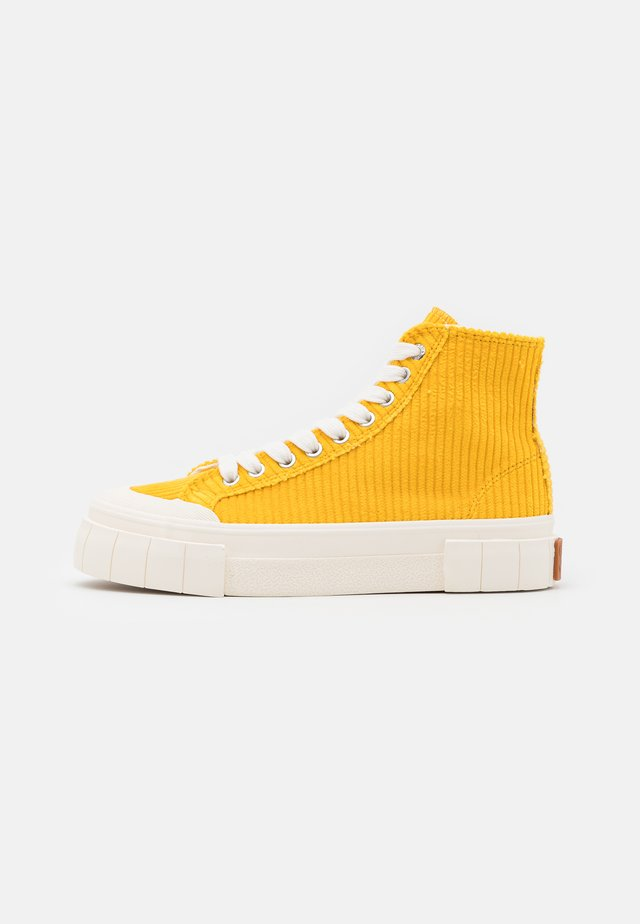 PALM UNISEX - Sneakers high - yellow