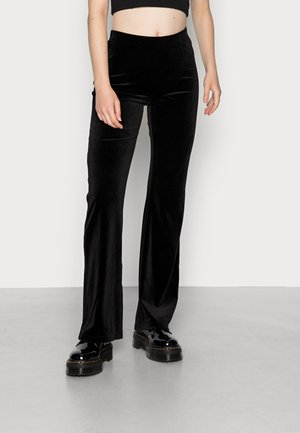 GIGI FLARED PANTS  - Trousers - black