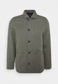 LOUIS JACKET - Summer jacket - green grey
