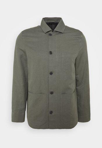 LOUIS JACKET - Giacca leggera - green grey