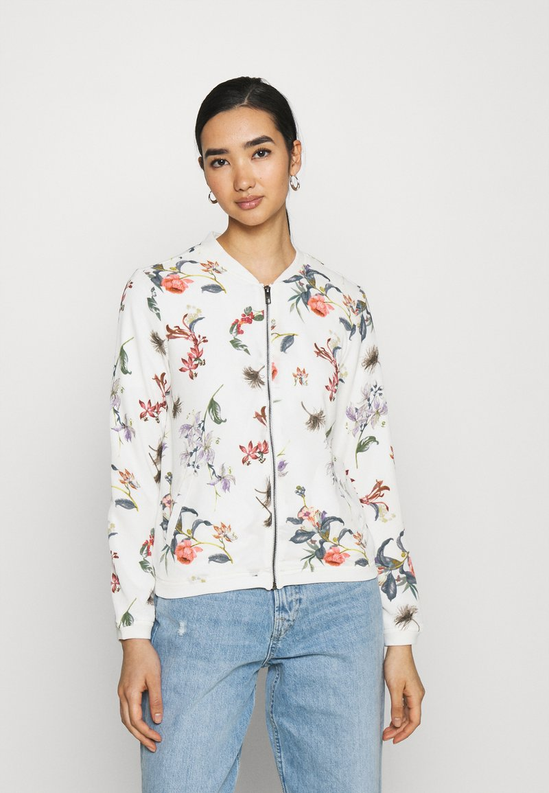 ONLY - ONLNOVA JACKET - Bomber Jacket - cloud dancer