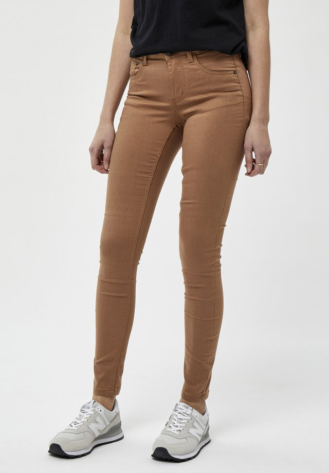 Jeans Skinny Fit - tobacco brown