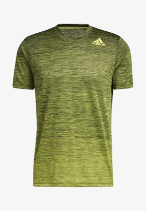 TECH GRADIENT - T-shirt con stampa - yellow