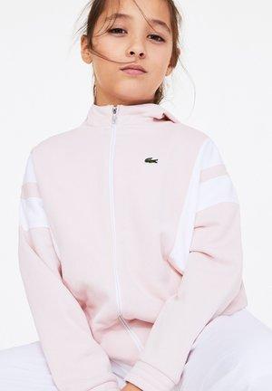 Light jacket - rose pale / blanc