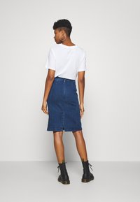 Scotch & Soda - PENCIL SKIRT - Denimová sukně - indigo - 2