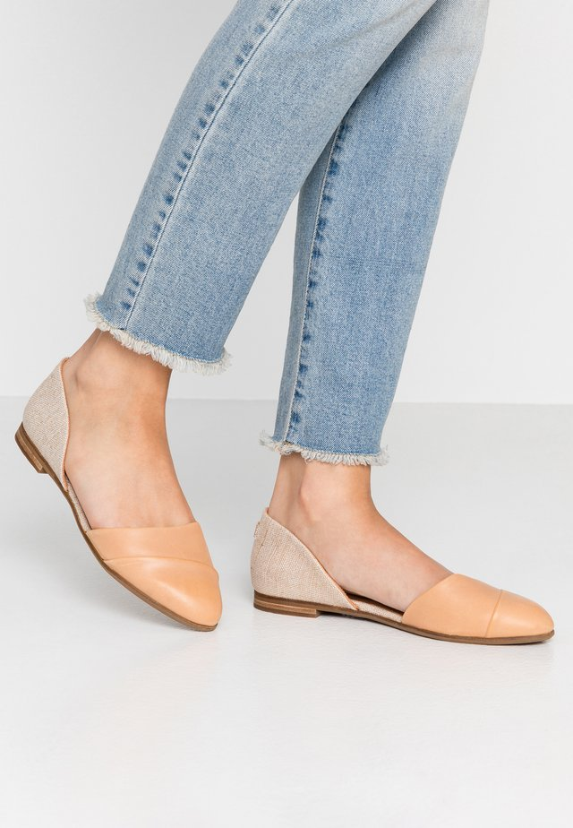 JUTTI DORSAY - Ballet pumps - tan