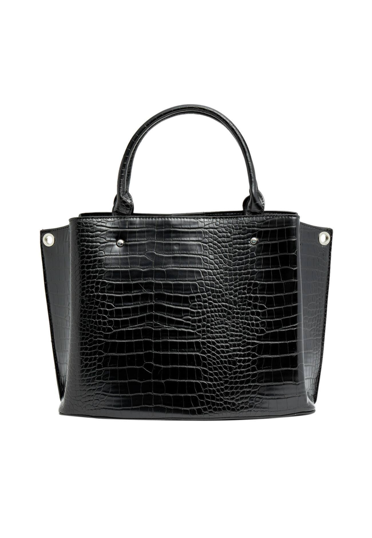Stradivarius Shopping Bag - Black/schwarz
