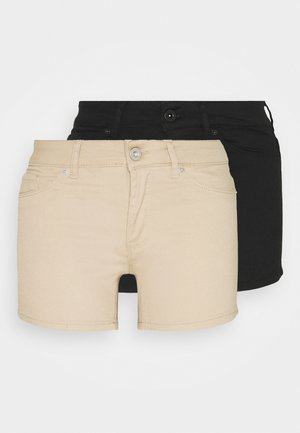 VMHOTSEVEN 2 PACK - Shorts - black