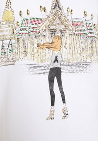 Patrizia Pepe - MAGLIA - T-shirt imprimé - bianco/temple - 6