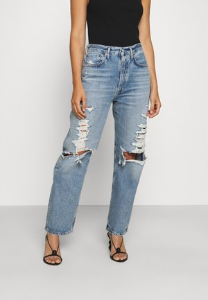 Relaxed fit jeans - light indigo