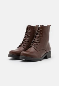 Anna Field Wide Fit - Lace-up ankle boots - dark brown - 2