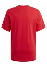 adidas Originals - GRAPHIC LOGO PRINT T-SHIRT - Print T-shirt - red - 1