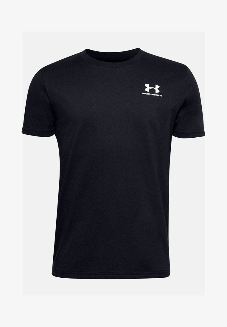 Under Armour - UA SPORTSTYLE LEFT CHEST SS - Basic T-shirt - black