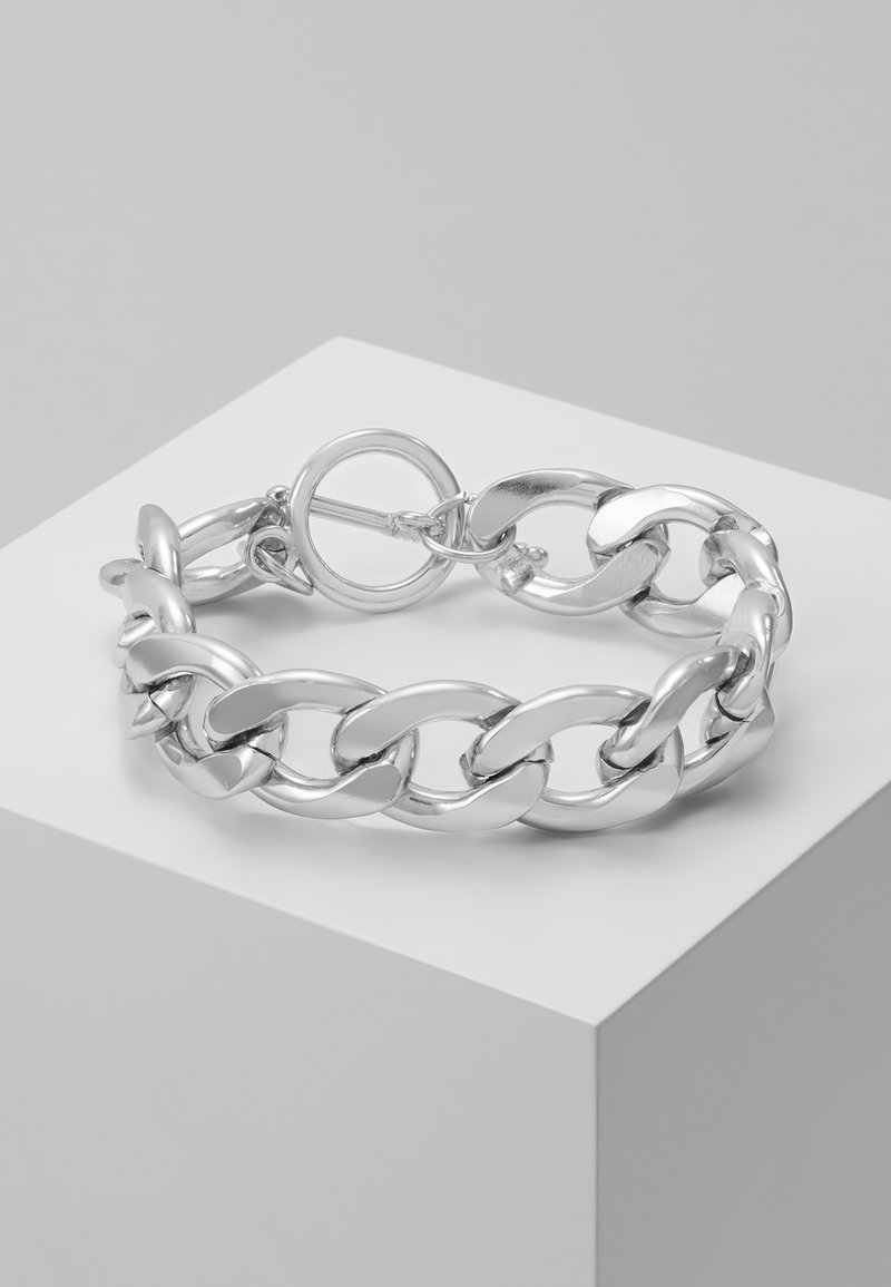 Pieces - PCLERENDA BRACELET  - Armband - silver coloured