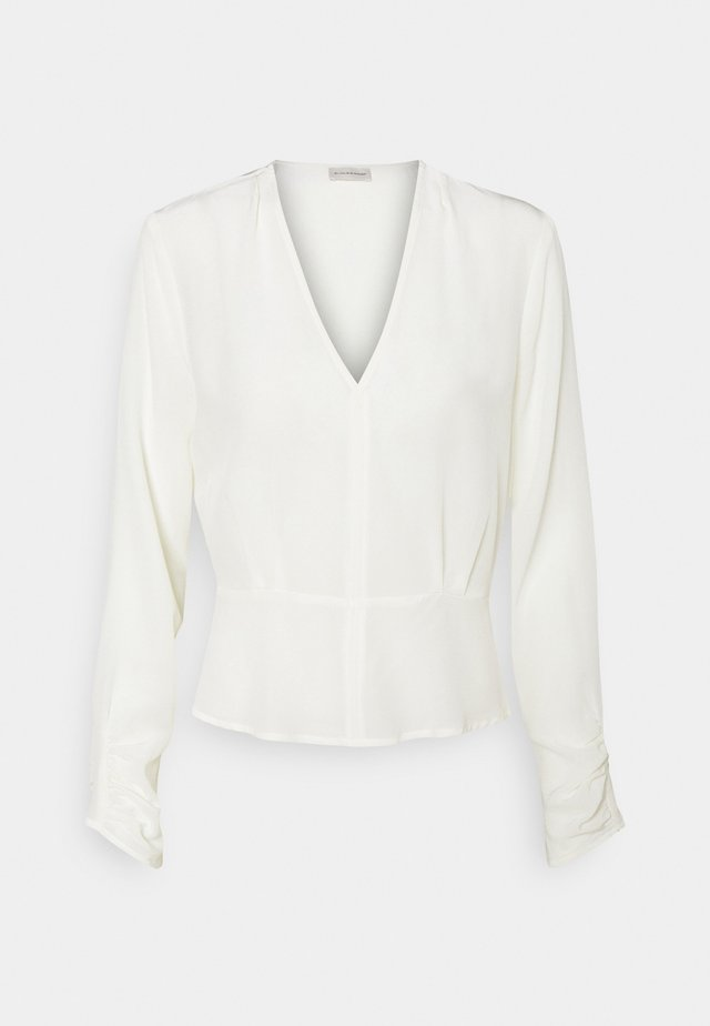 ANSELLIA - Long sleeved top - soft white