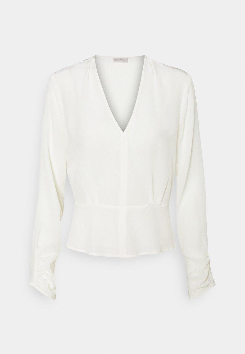 By Malene Birger - ANSELLIA - Long sleeved top - soft white