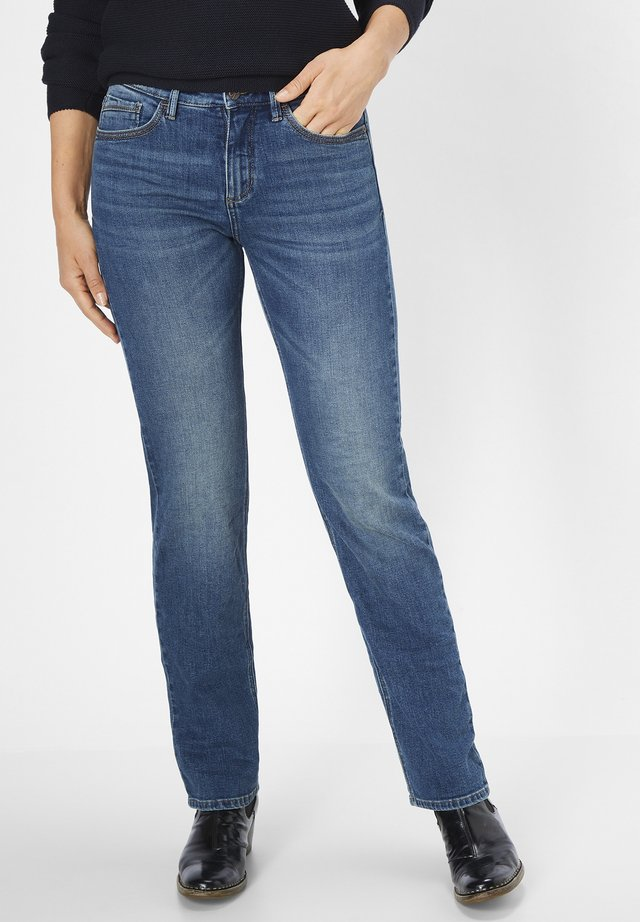 KATE - Straight leg jeans - blue moustache used