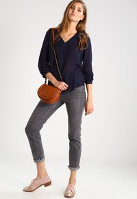 Kaffe - AMBER BLOUSE - Tunic - midnight marine - 1