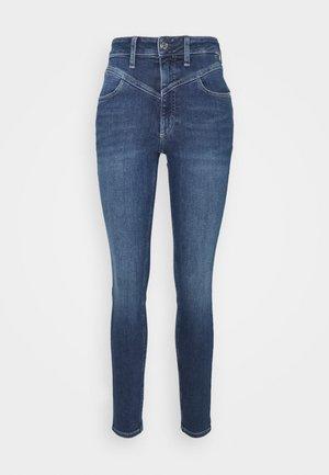 HIGH RISE - Skinny džíny - dark blue