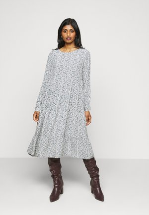 PCMAGGI MIDI DRESS - Freizeitkleid - north atlantic/small flowers