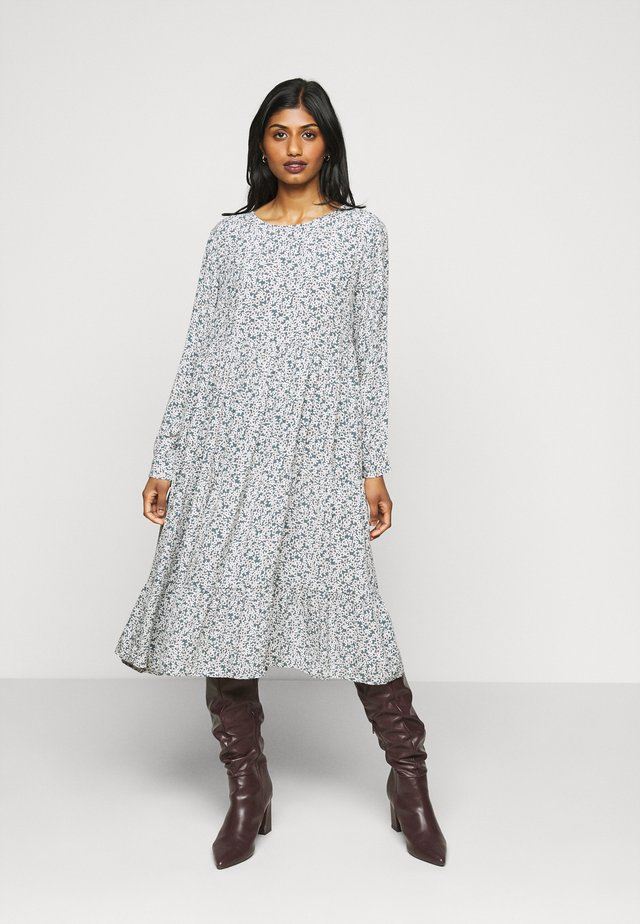 PCMAGGI MIDI DRESS - Day dress - north atlantic/small flowers