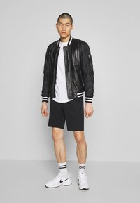 Only & Sons - ONSNEIL 2 PACK - Shorts - black/grey - 1