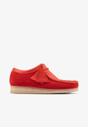 Slip-ons - rood