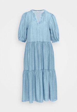 Maxi dress - blue lagoon denim