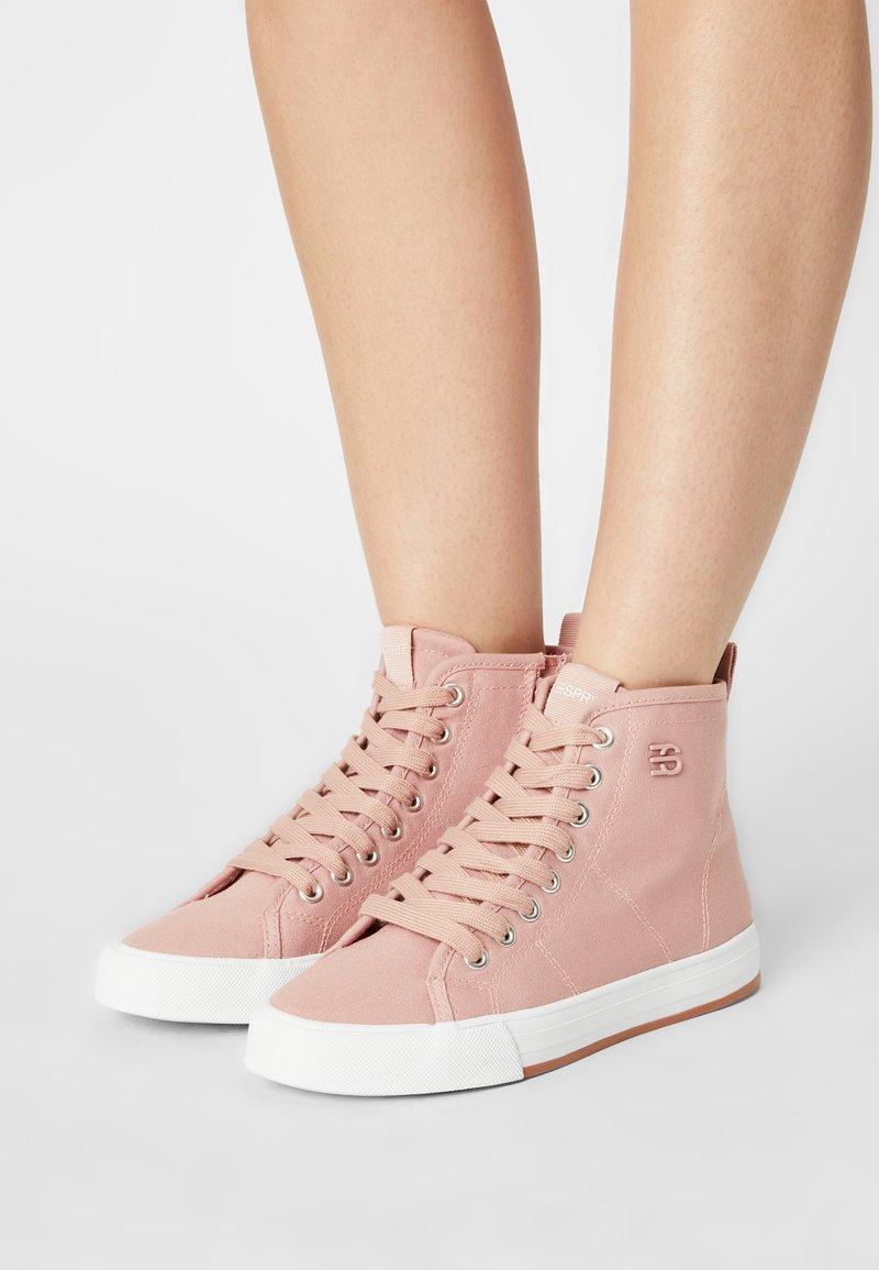 Esprit - SIMONA  - Sneakers hoog - old pink
