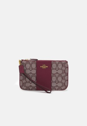 SIGNATURE SMALL WRISTLET - Wallet - burgundy/cherry