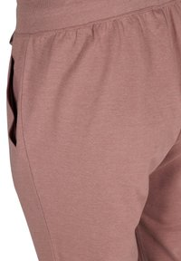 Active by Zizzi - Tracksuit bottoms - rose taupe melange - 4
