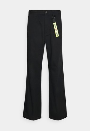 SKATER PANT - Pantalon classique - black