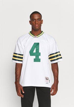 NFL GREEN BAY PACKERS BRETT FAVRE LEGACY - Club wear - white/white