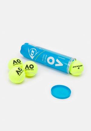 AUSTRALIAN OPEN 4 PACK UNISEX - Tenisový míček - gelb