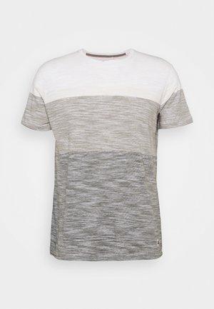TEE - Basic T-shirt - egret