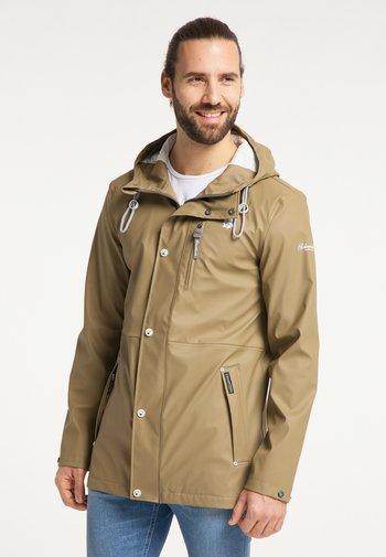 Waterproof jacket - khaki