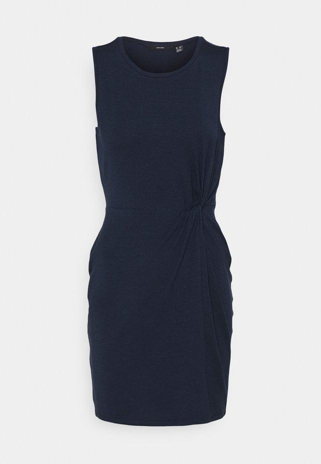 VMKIANA DRESS - Jersey dress - navy blazer